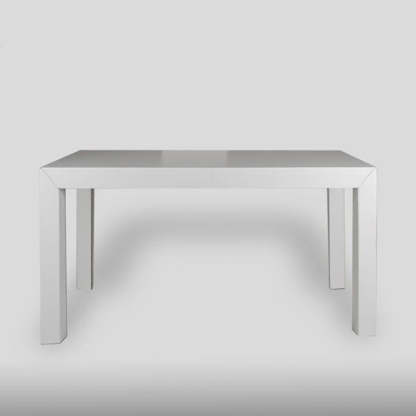 Mesa de cartón de comedor rectangular