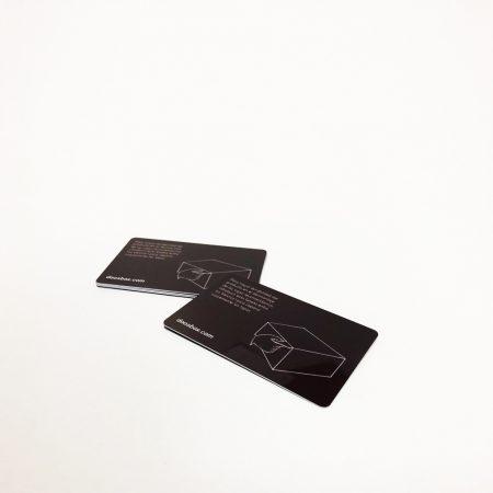 Tarjeta de Desmontaje de Muebles de Cartón