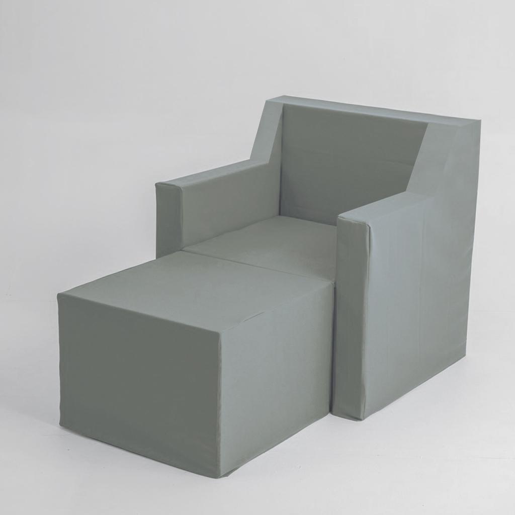Funda de sillón chaise longue