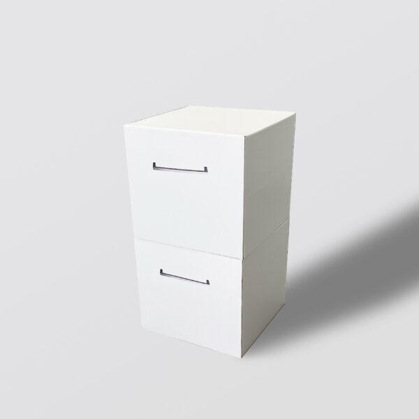 Tiroir double en carton