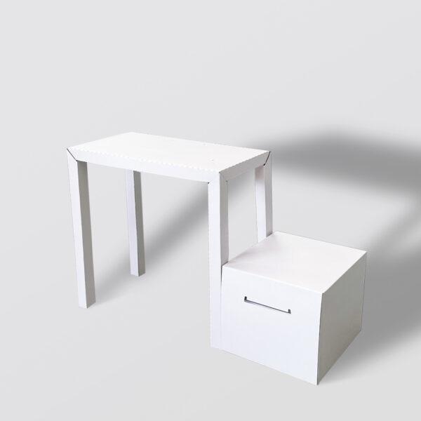 Conjunto de escritorio y cajonera